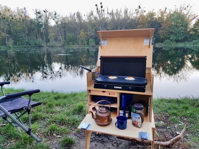 Küchenkiste Patrol Box von Willi Wood