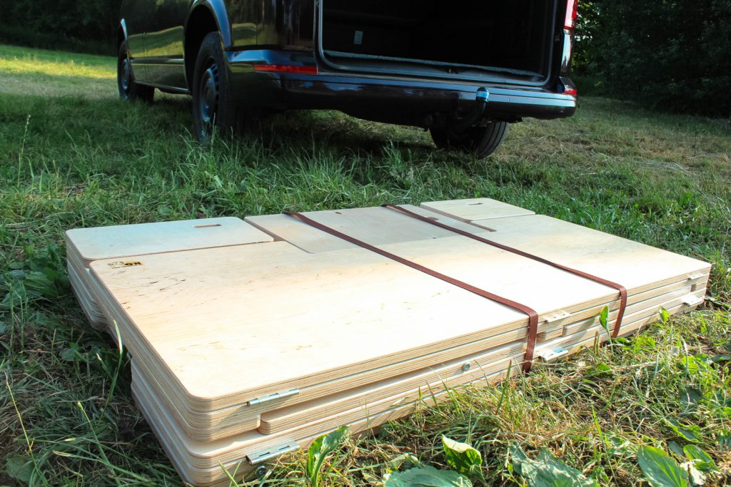 Campingbox BiberBox - Kompaktes Packmaß.