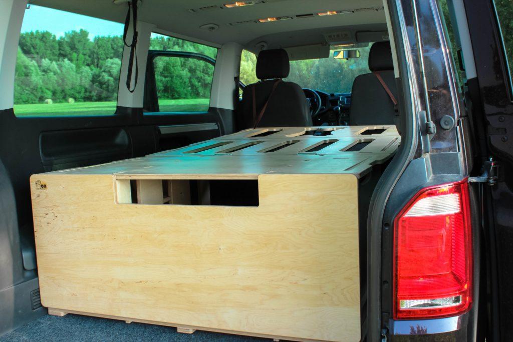 Campingbox BiberBox - Schlicht aber funktional.