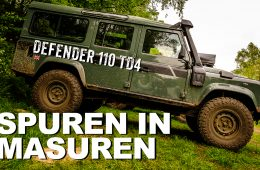 Land Rover Defender 110 TD4 & Polen - 4x4 Passion #82