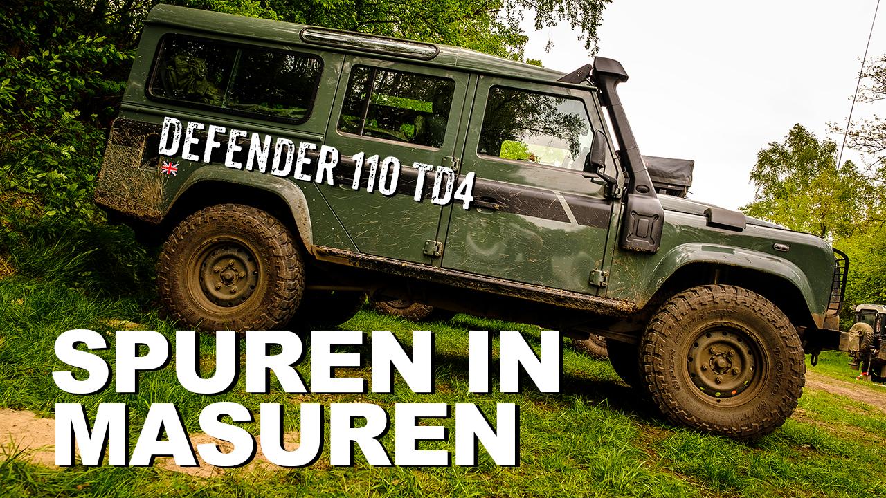 Land Rover Defender 110 TD4 & Polen - 4x4 Passion #82