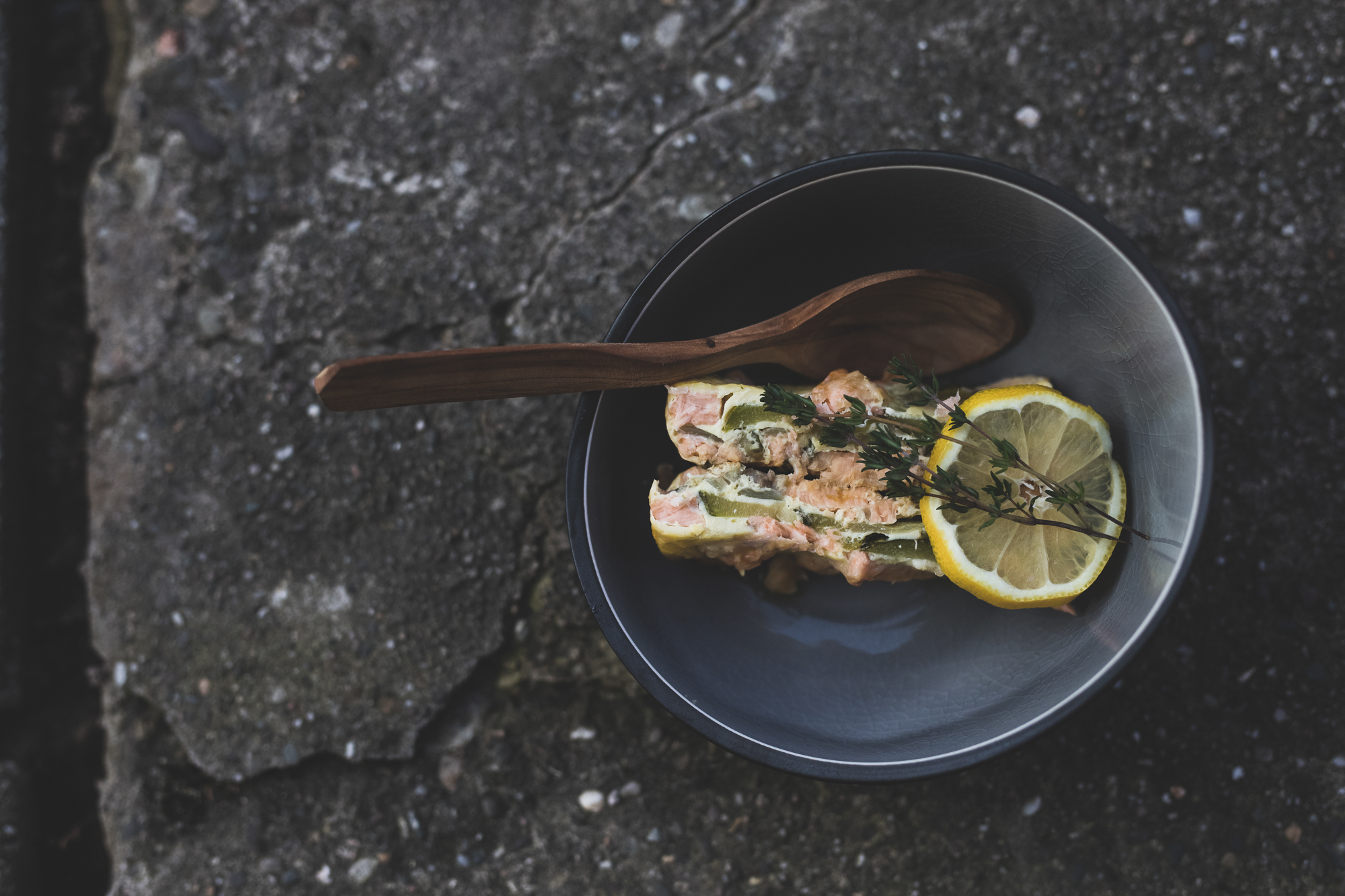 Rezept Zucchini-Lachs-Lasagne im Dutch Oven