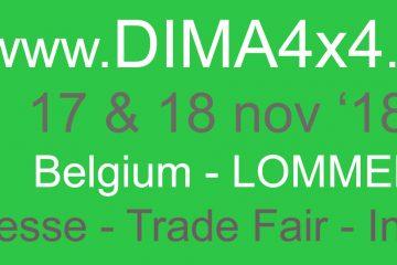 DIMA4x4 2018 - DIMA4x4 in Lommel, Belgien.