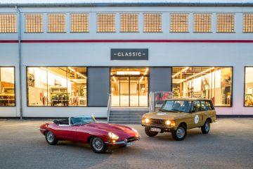 Jaguar Land Rover Classic Center in Essen - © Jaguar Land Rover