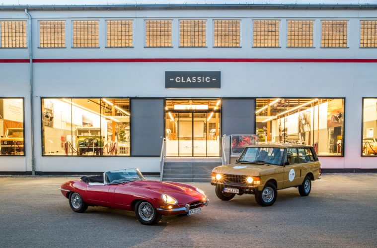 Jaguar Land Rover Classic Center in Essen - © Jaguar Land Rover