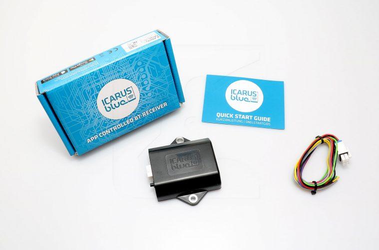 Nakatanenga Bluetooth-Empfaenger icarus blue