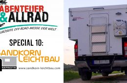 Sandkorn Leichtbau-Kabinen - Abenteuer & Allrad Spezial - 4x4 Passion #85