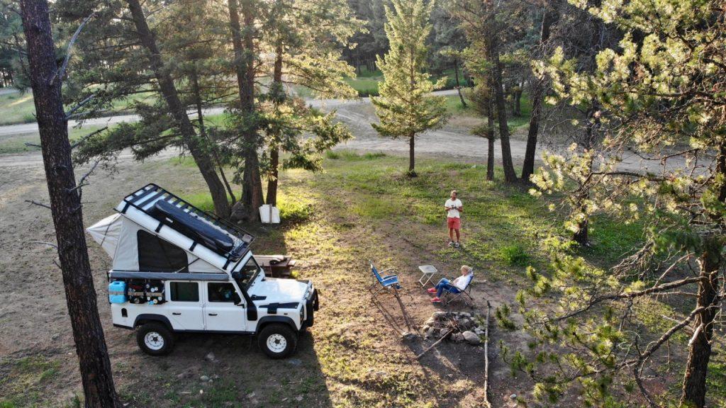 Reisen in Nordamerika - Freies Camping in Kanada.