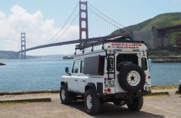 Reisen in Nordamerika - Golden Gate Bridge.