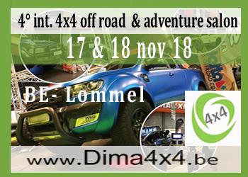 DIMA4x4 in Lommel, Belgien.