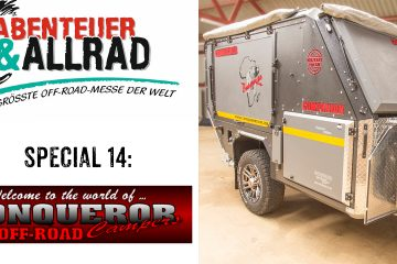 Conquerer Offroad-Zeltanhänger - Abenteuer & Allrad Spezial - 4x4 Passion #91