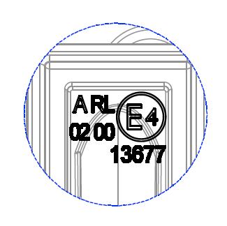 Nolden - LED-Scheinwerfer - Korrekte Kennzeichnung.