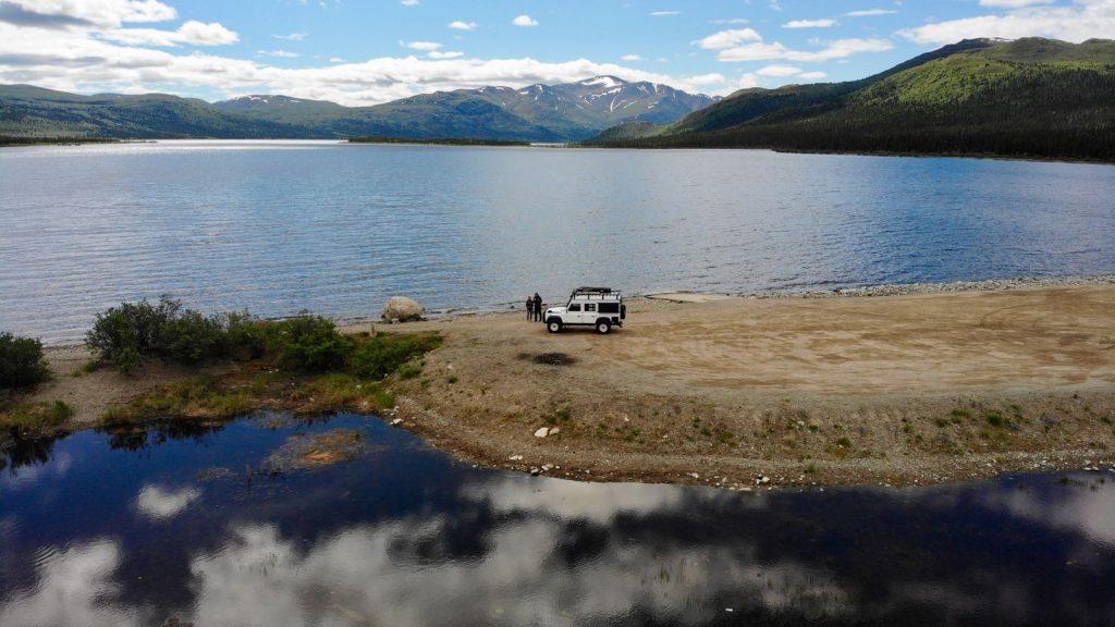 Reisen in Nordamerika - Einsame Plätze finden sich immer wieder.