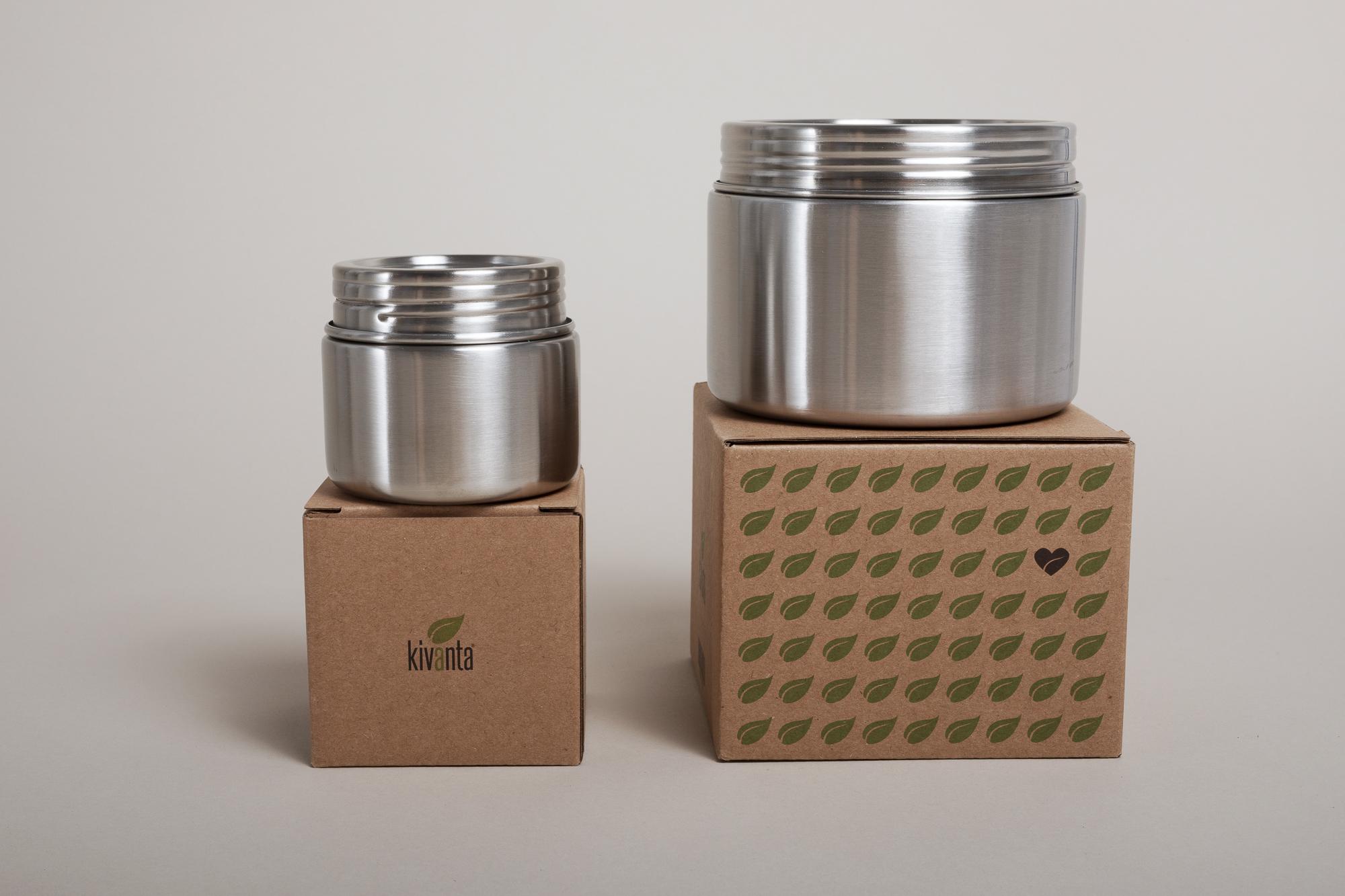 Kivanta - Trinkflaschen, Isolierflasche und Edelstahl-Behälter