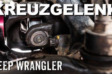Kreuzgelenk wechseln Jeep Wrangler - 4x4 Passion #93
