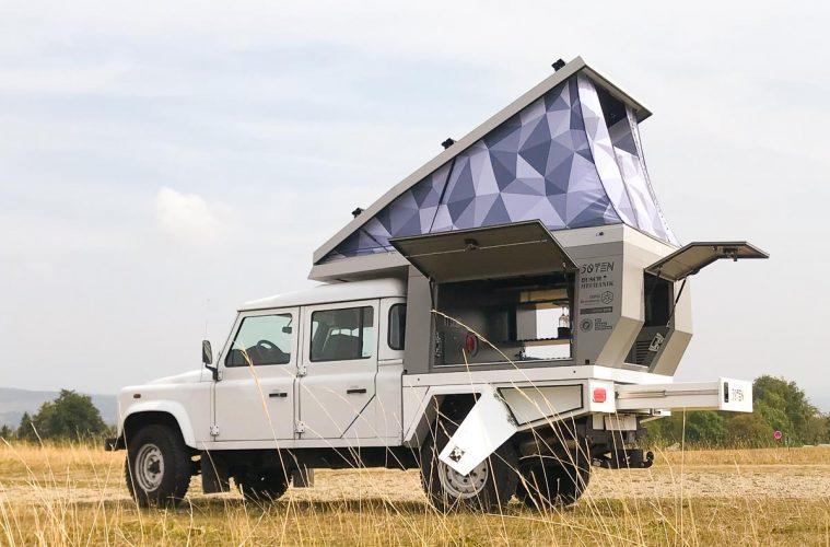 Die neue Fiftyten-Kabine für den Land Rover Defender 130.