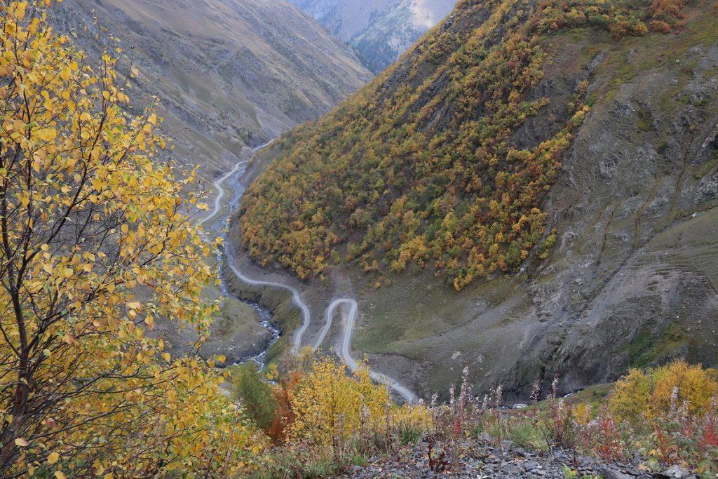 Offroad in Georgien - Der Herbst ist eingekehrt in Tusheti.