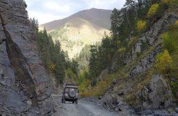 Offroad in Georgien - Im Großen Kaukasus.
