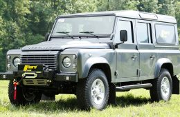 SALIR-Windenstoßstange für Land Rover Defender ohne Klima.