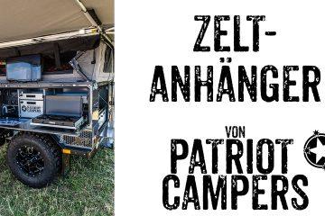 Zeltanhänger von Patriot Campers - 4x4 Passion #98