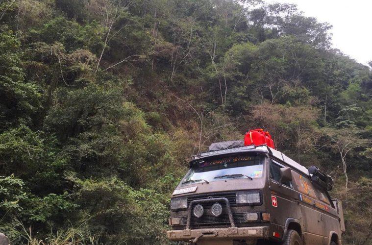 In Bolivien.
