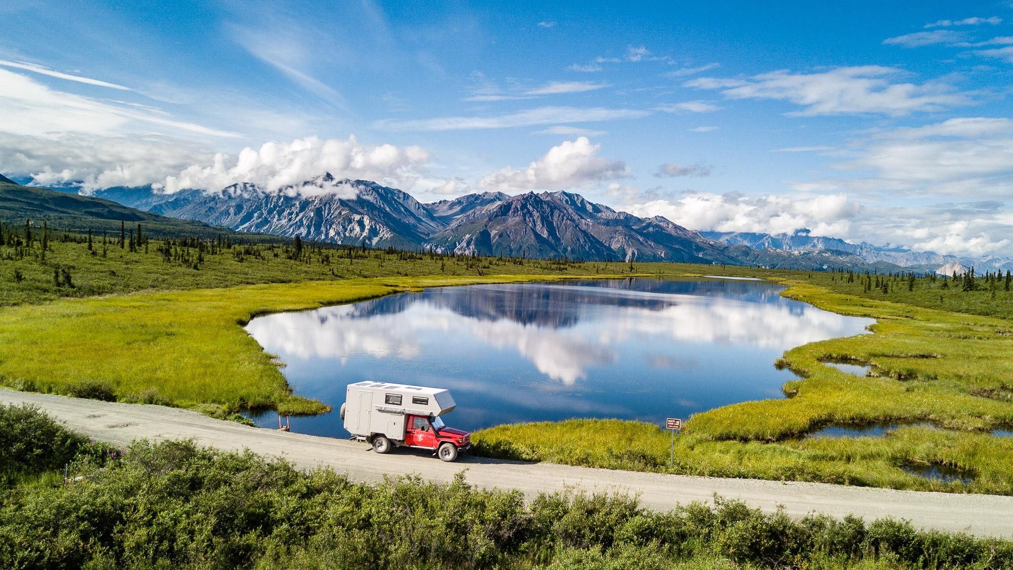 Einmalrundum.ch - Land Cruiser Panamericana - Alaska