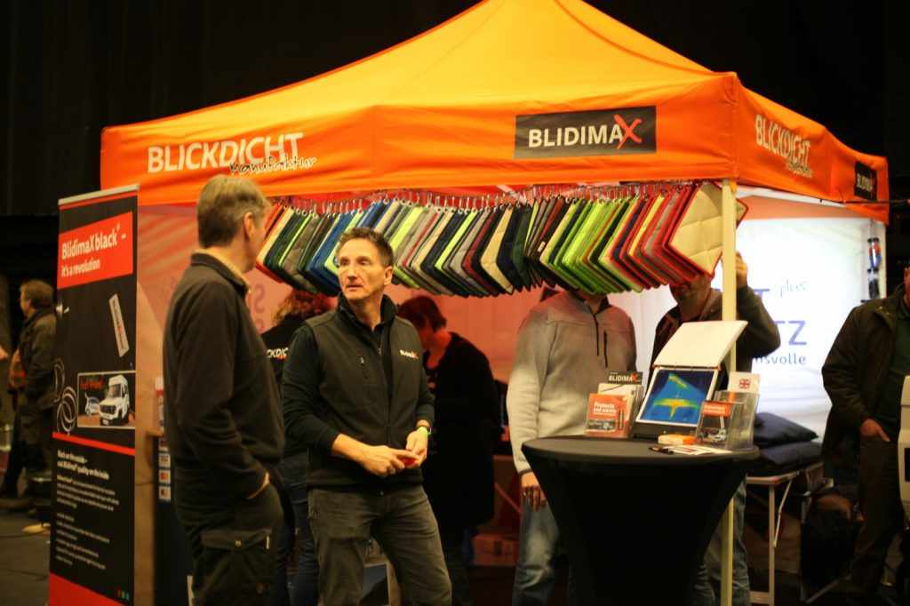 DIMA4x4 - Wie immer großes Interesse am Blidimax-Stand.