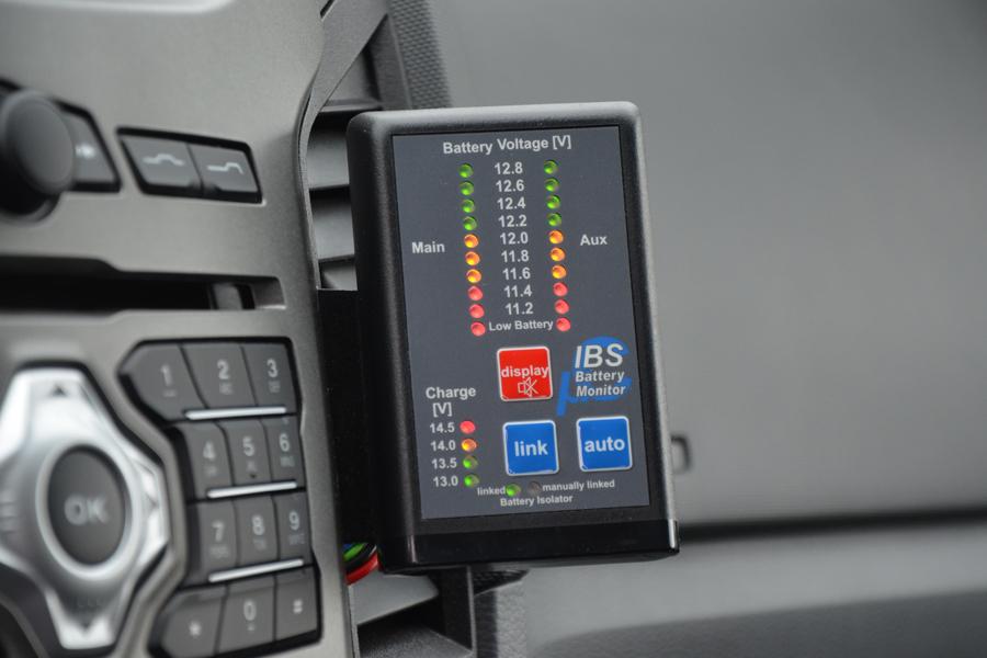 Taubenreuther IBS-DBS 12V-EM - Einfache Steuerung und immer im Bilde.