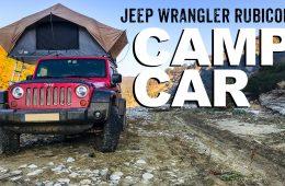 Jeep Wrangler Rubicon als Camper - 4x4 Passion #101