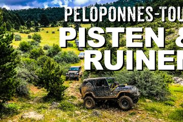 Offroad-Reise Peloponnes in Griechenland - 4x4 Passion #102