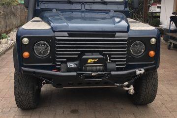 Seilwinden-Stoßstange Land Rover Defender von Trekfinder