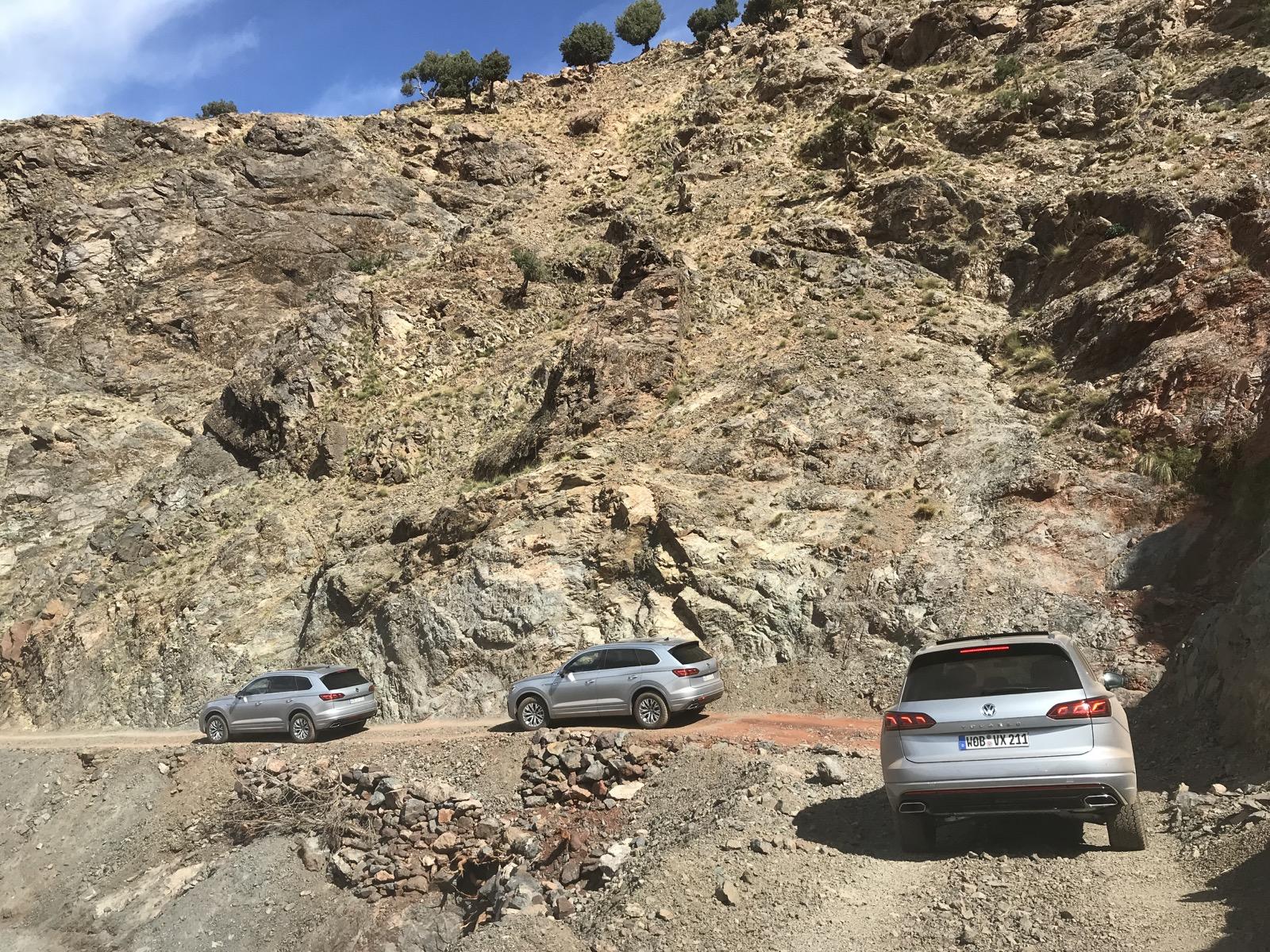 Offroad in Marokko mit dem VW Touareg