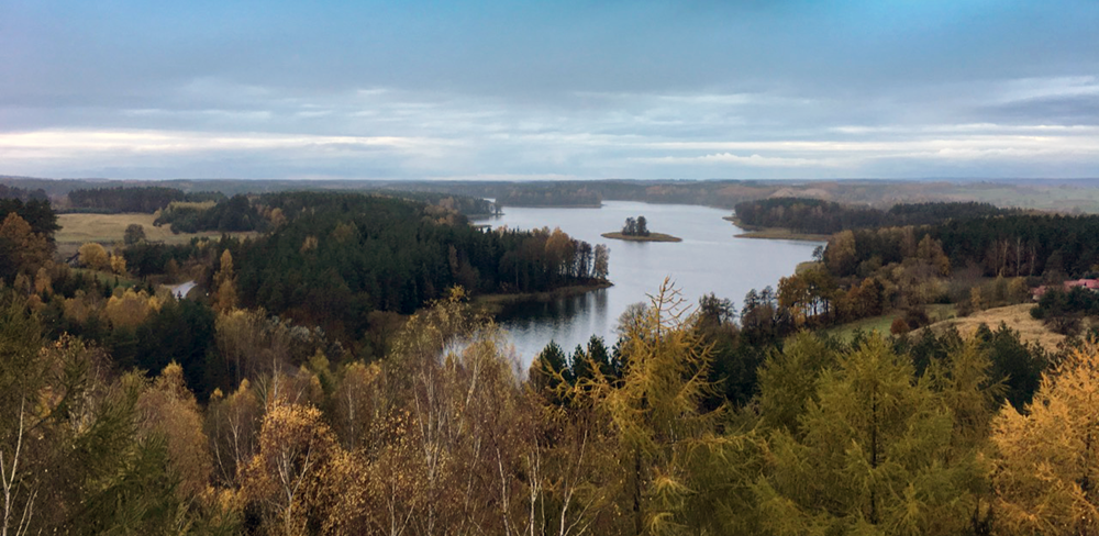 Mud-Master-Masuren - Faszinierende Landschaft - Masurische Seenplatte.