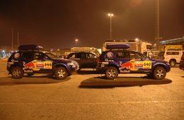 Die SUV-Rallye in Deutschland.