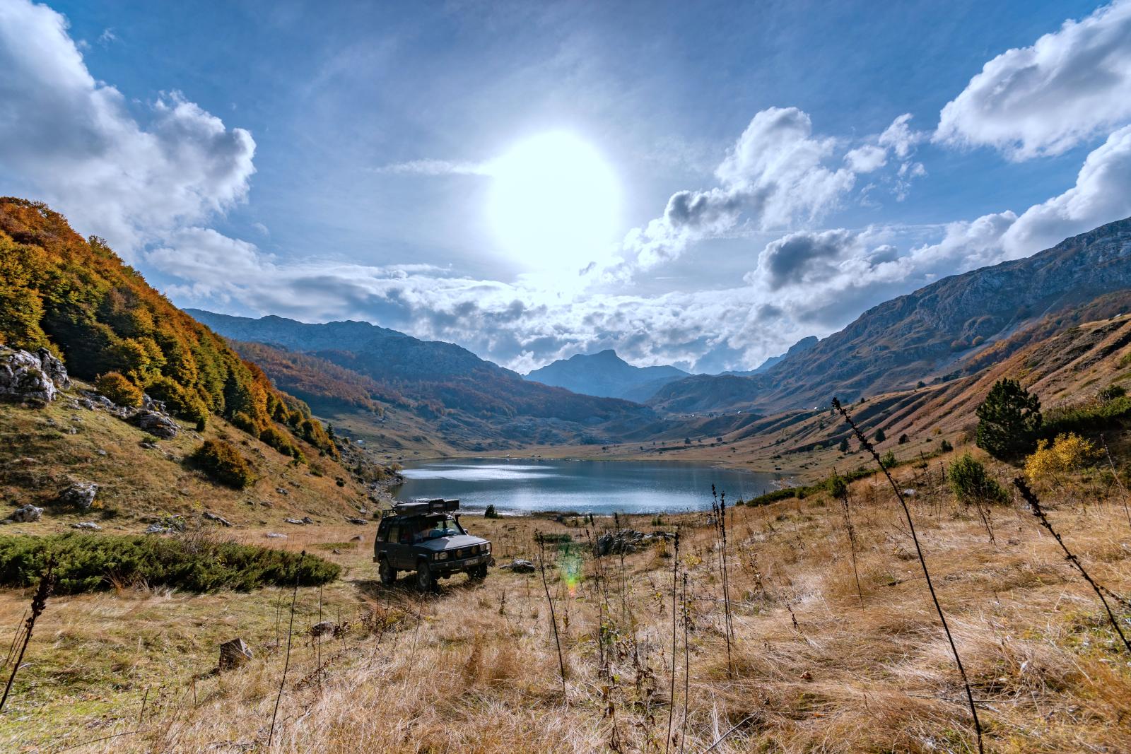 Five Mountains Tour - Lust auf so einen Schlafplatz?