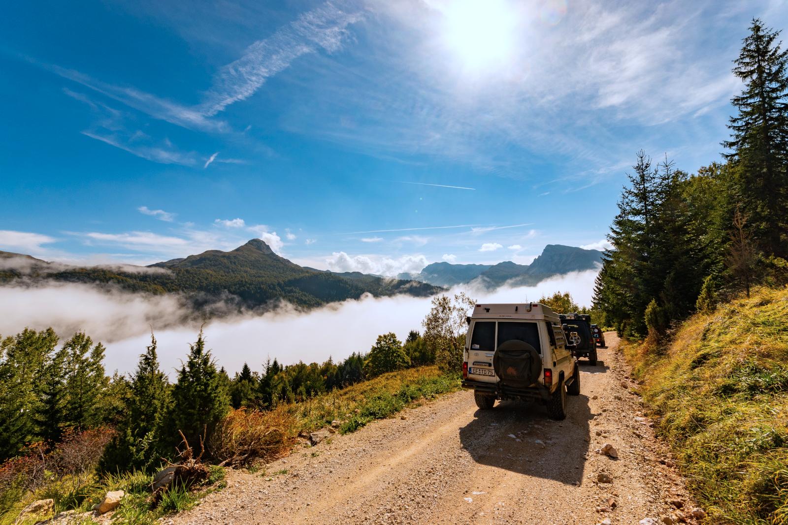 Five Mountains Tour - Über den Wolken, muss die Freiheit wohl grenzenlos sein.