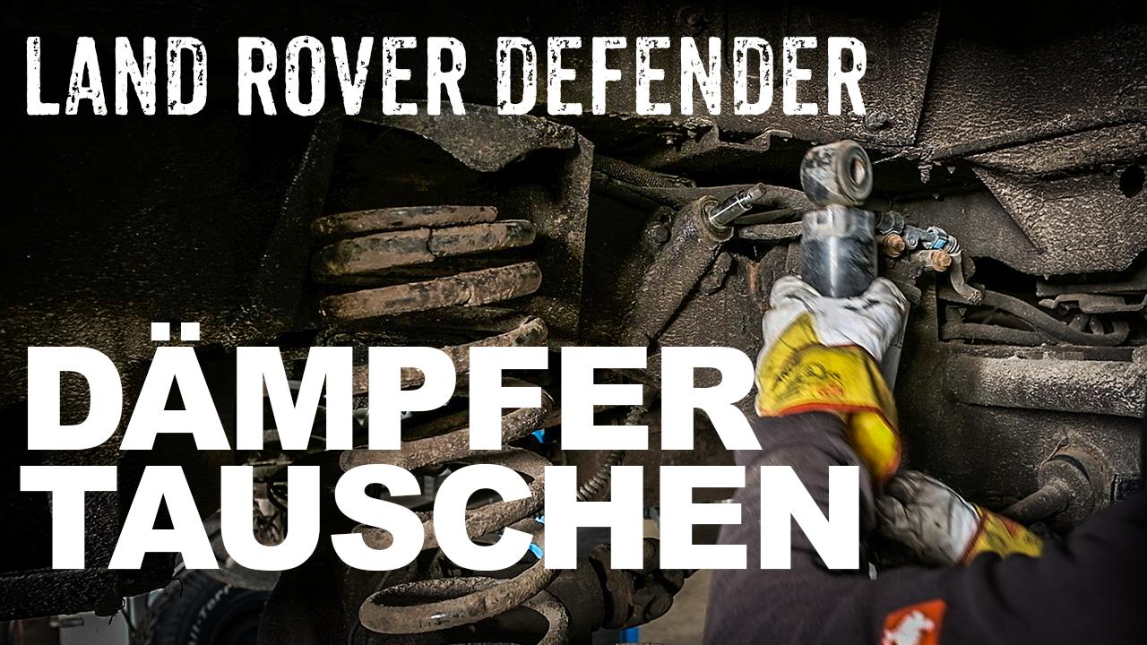 Stoßdämpfer in einen Land Rover Defender einbauen - 4x4 Passion #111