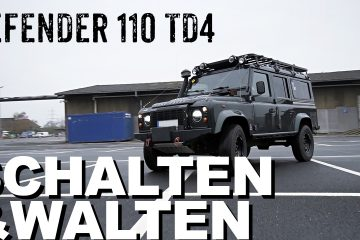 Defender 110 TD4 mit optimierter Elektrik - 4x4 Passion #108