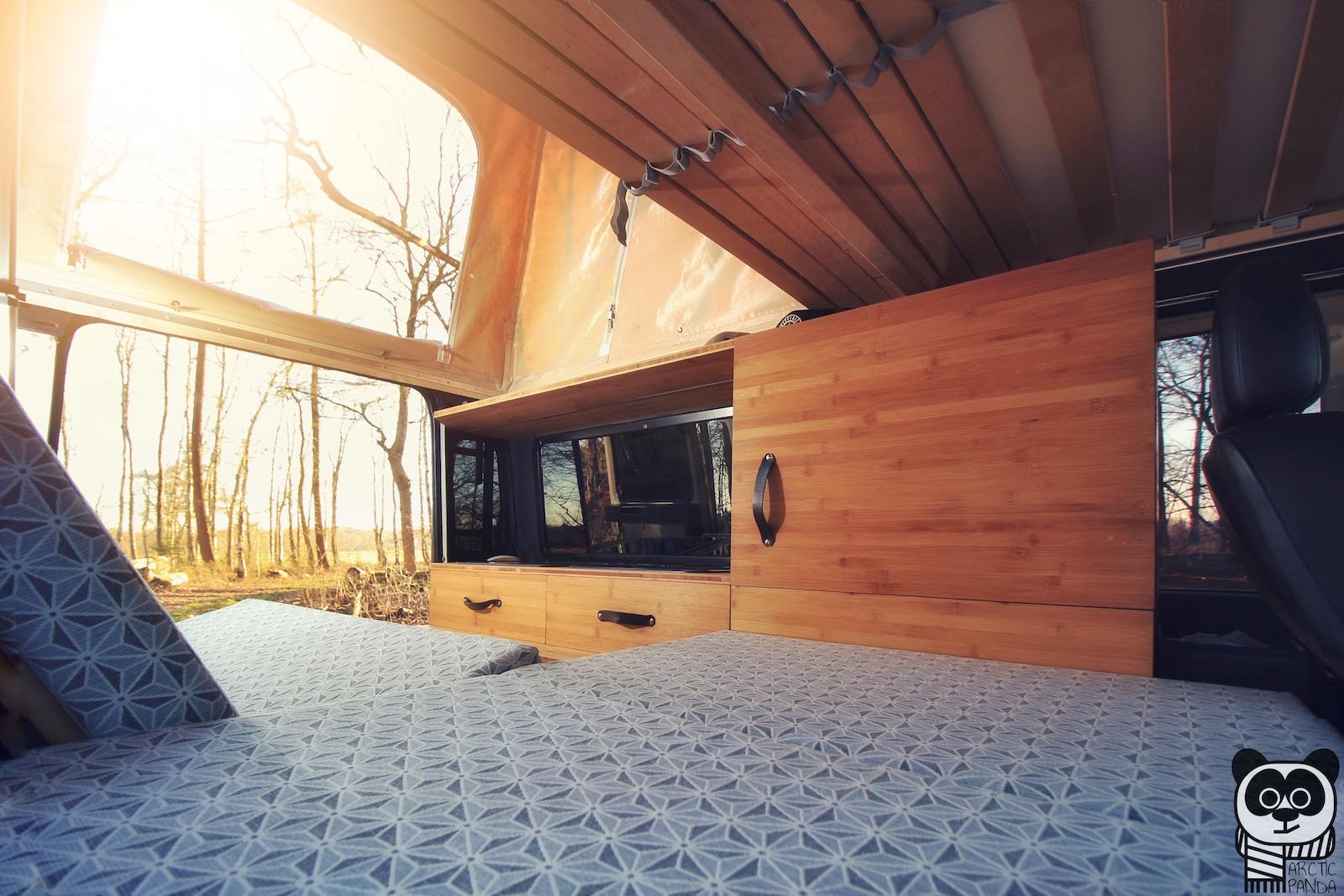 Titelbild ArcticPanda - DIY-Campingausbau.