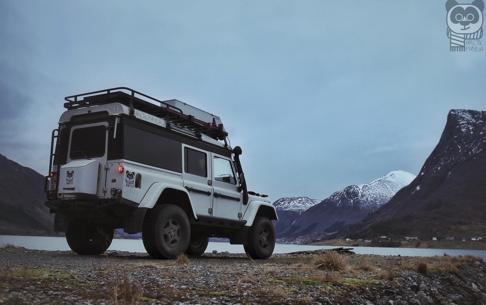 Mit dem ArcticPanda unterwegs im winterlichen Norwegen.