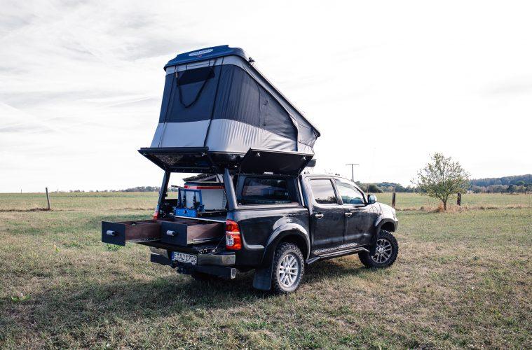 Hilux als 4x4-Familien-Reisefahrzeug