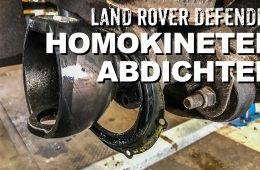 Homokineten und Achskugeln beim Land Rover Defender - 4x4 Passion #115
