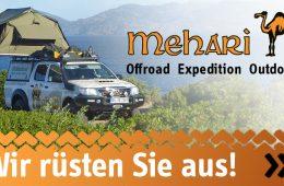 Expeditionsausrüster Mehari