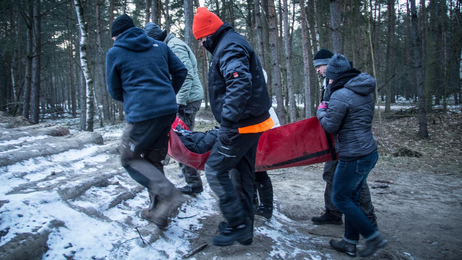 Red Rock Intensiv Training - Was im Notfall zu tun ist wird auch körperlich trainiert.