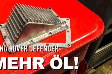 Getriebe-Ölwannen-Erweiterung Land Rover Defender - 4x4 Passion #119