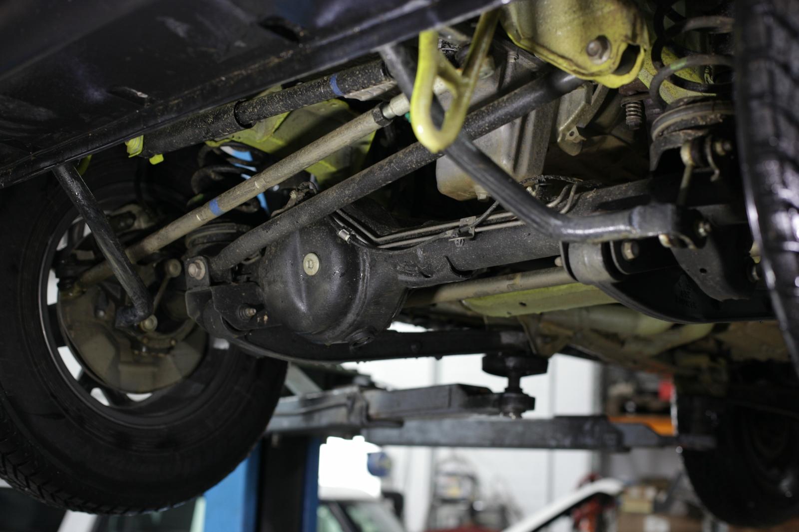 Vorderachse Suzuki Jimny GJ.