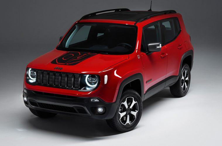 Jeep Renegade als Plug-in-Hybrid.