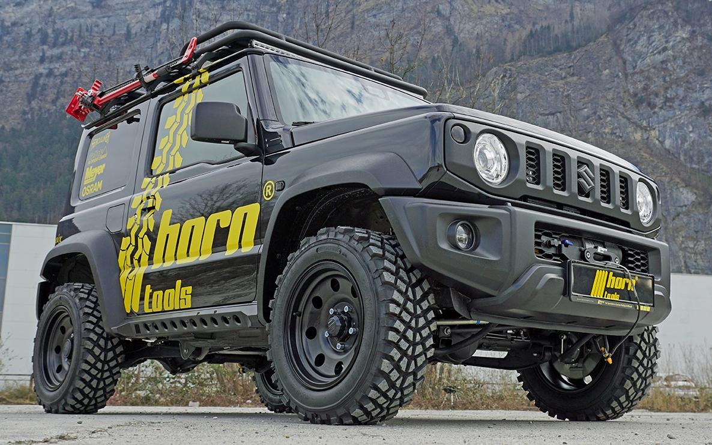 Horntools - Suzuki Jimny Rockslider - wenn es mal etwas härter wird.