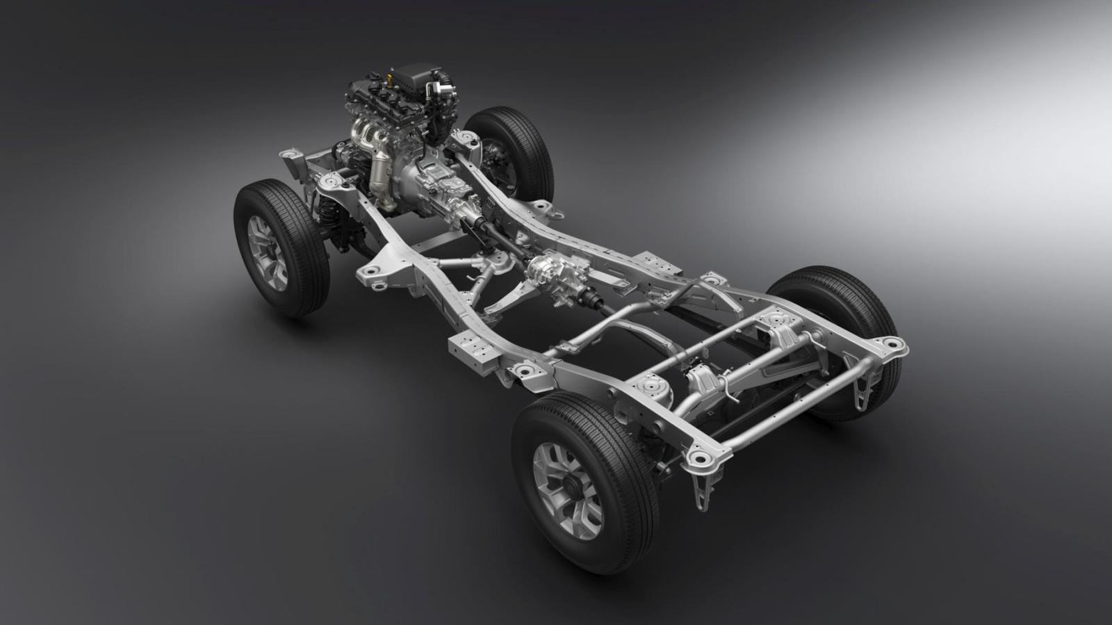 Suzuki Jimny GJ - Die Basis des Jimny GJ.