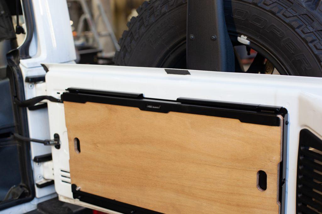 JK-Sleeper Jeep Wrangler Innenausbau